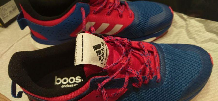 Купил первые беговые кроссовки, adidas response