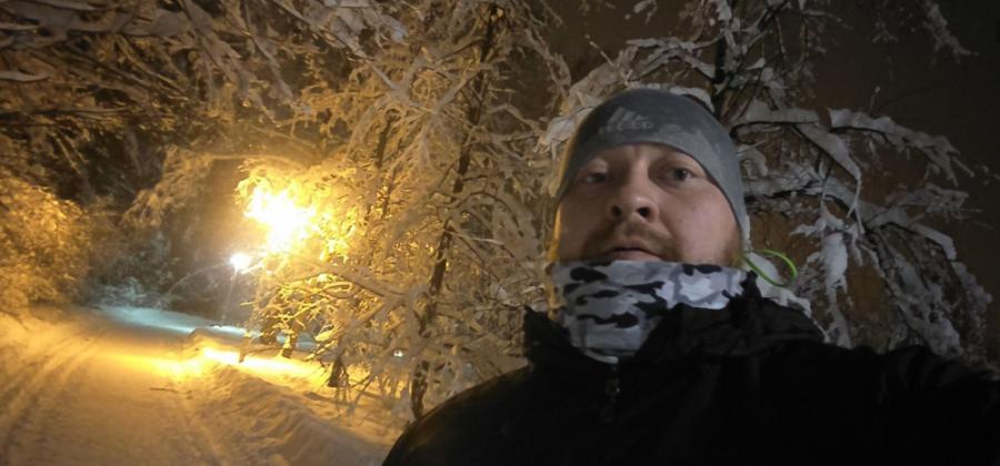 Для бега по снегам купил трэловые кроссовки — adidas terrex agravic gtx
